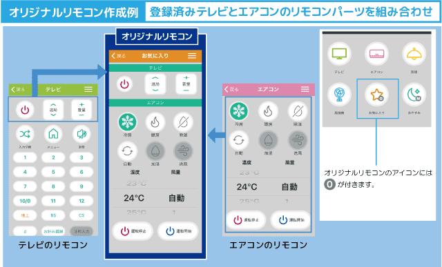 ラトックシステム「RS-WFIREX3」スマホアプリ