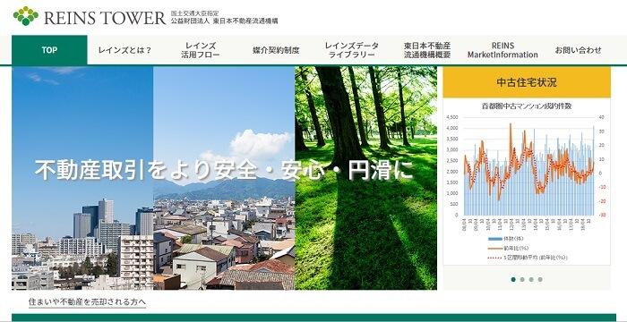 REINS東日本の画面