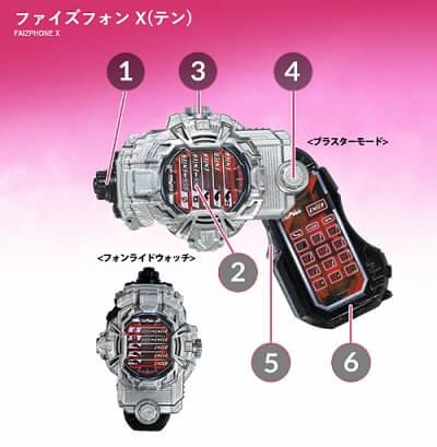 ファイズフォンX(テン)
