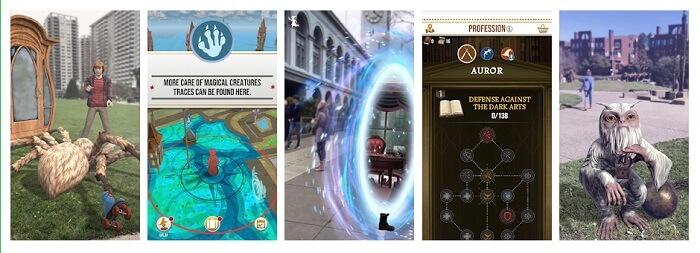 ハリー・ポッター:魔法同盟プレイ画面