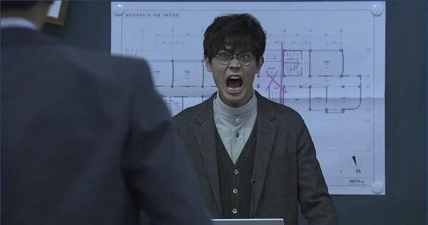 3年A組1話 菅田君怒る