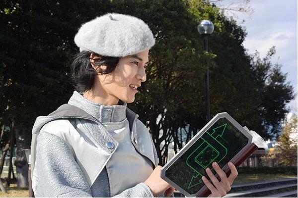 仮面ライダージオウEP18:本を書く白ウォズ