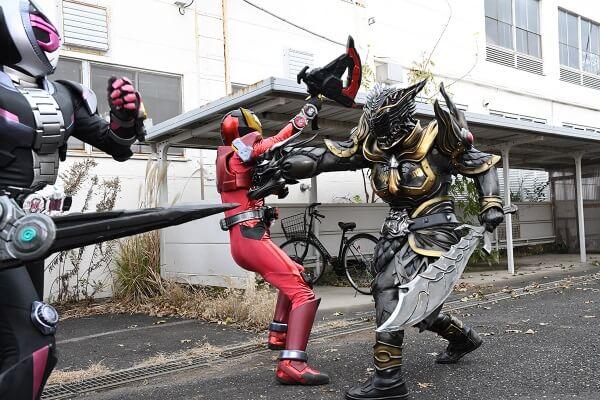仮面ライダージオウEP21:VSアナザーリュウガ