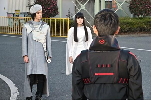 仮面ライダージオウ EP23:白ウォズと一緒にいるツクヨミ