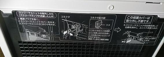 ダイキン MCK55V:ストリーマユニット