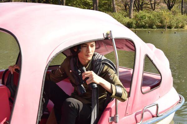仮面ライダージオウ EP35:スワンボートに乗るウォズ