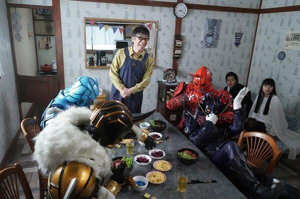 仮面ライダージオウEP39:常盤のおじさんと4イマジン