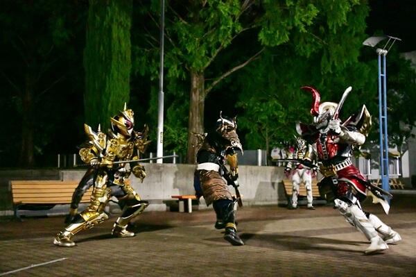 仮面ライダージオウEP41:アナザーライダーと戦うグランドジオウ