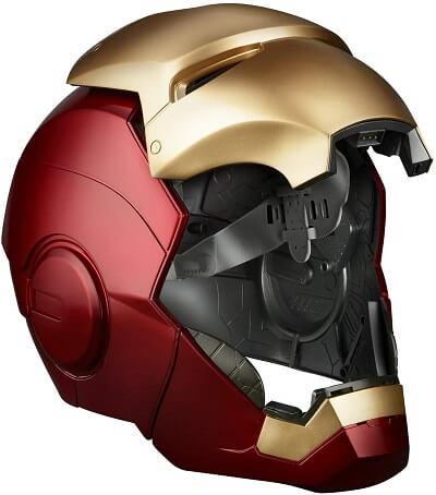 アイアンマンのヘルメットオープン時