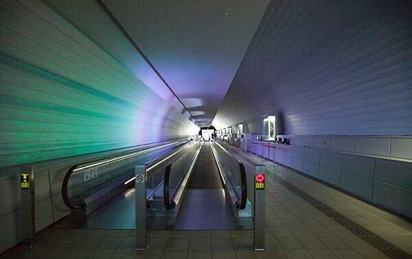 九州国立博物館「虹のトンネル」