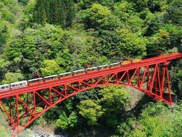 黒部峡谷鉄道:夏