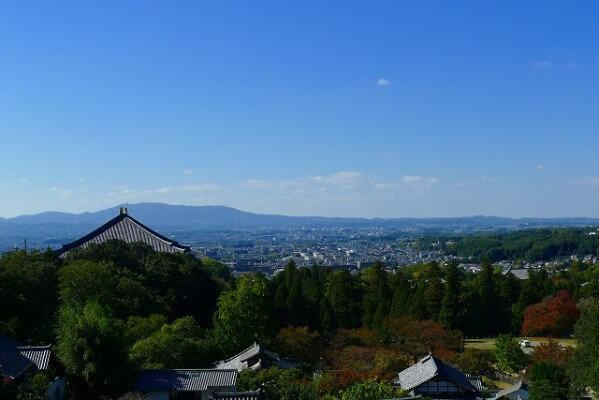 東大寺二月堂から見た風景