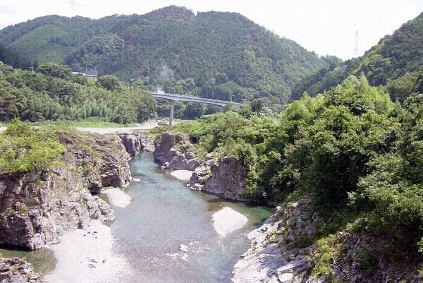 宮滝遺跡(吉野川)