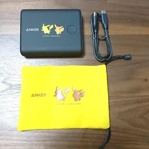 Anker PowerCore 13400 Pokémon Limited Edition ピカチュウ&イーブイモデル付属品