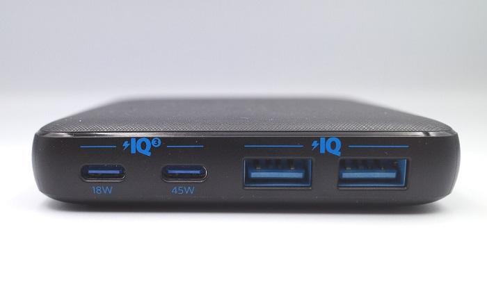 Anker「PowerPort Atom Ⅲ 63W Slim」ポート