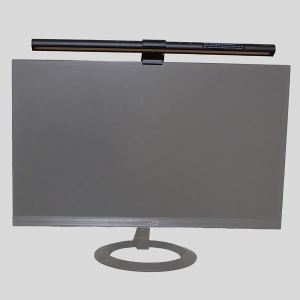 BenQ ScreenBarモニター上部へ設置