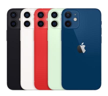 iPhone 12 miniカラーバリエーション