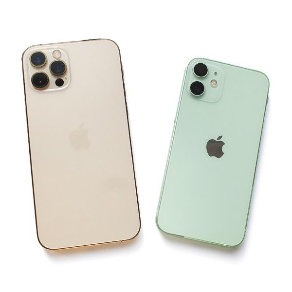 iPhone12 miniとiPhone12 proの比較