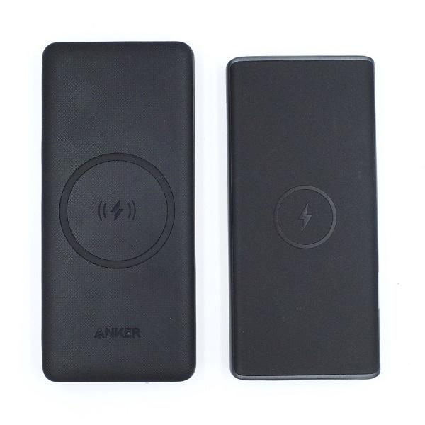 AUKEY PB-Y32とAnker PowerCore III 10000 Wirelessの比較