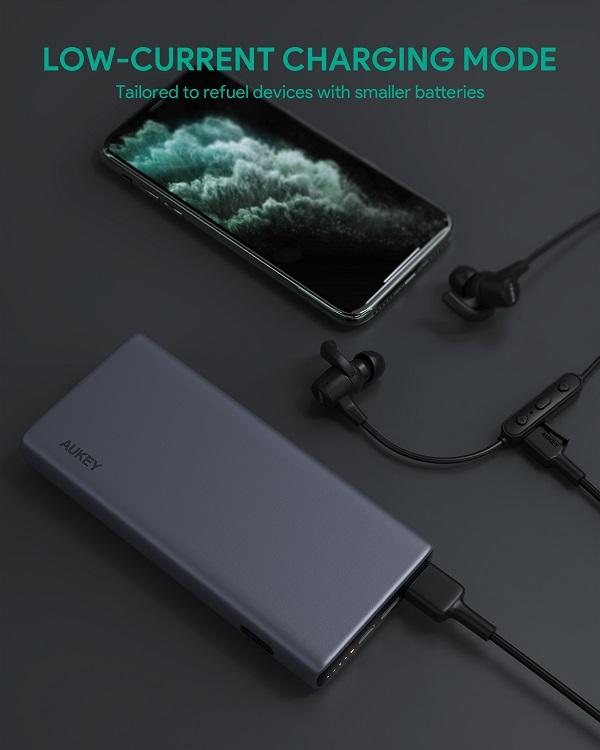 AUKEY PB-Y32低電流充電モード