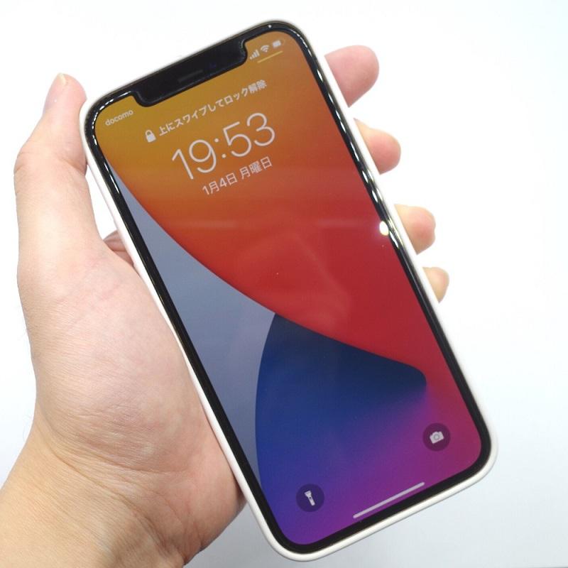 MagSafe対応iPhone 12 | iPhone 12 Proシリコーンケース - ホワイト 表面