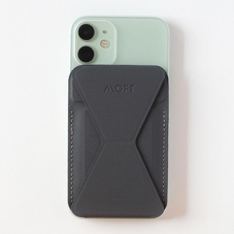 MagSafe対応MOFT XをiPhone12miniに装着