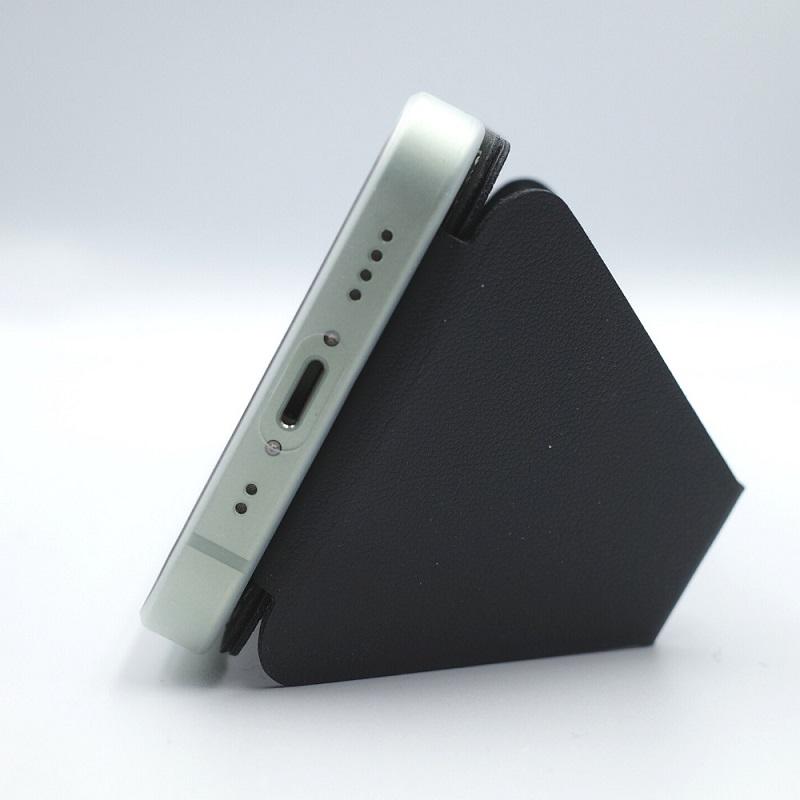 MagSafe対応MOFT XでiPhone12miniを横置き(サイド)