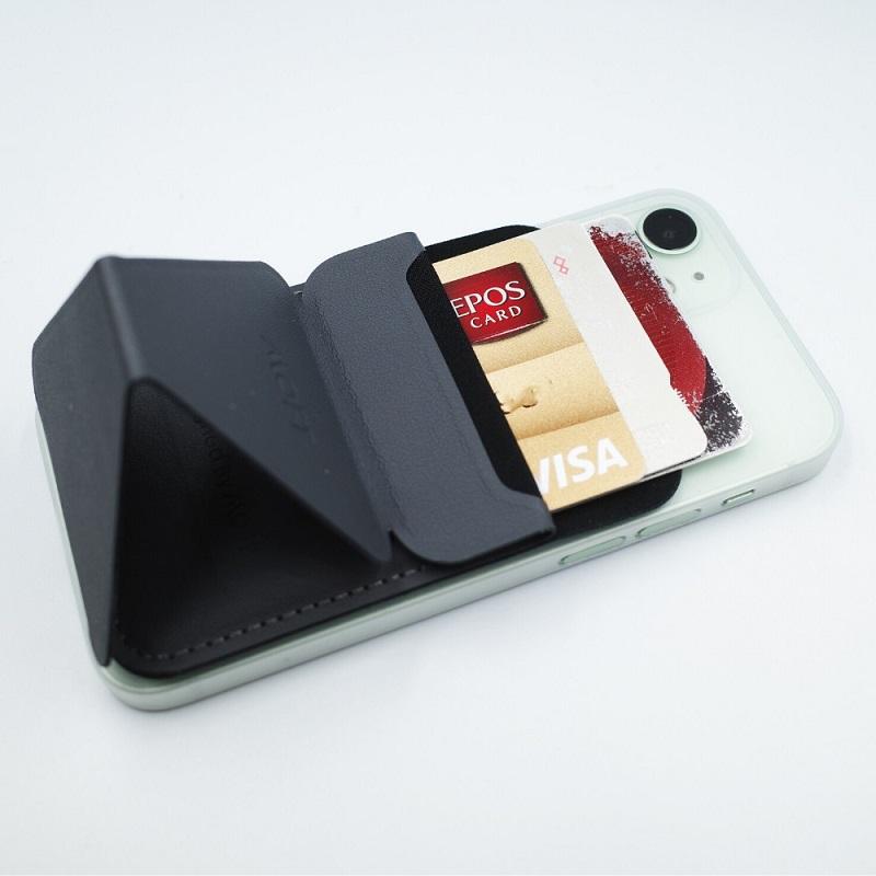 MagSafe対応MOFT Xはカードが3枚入る