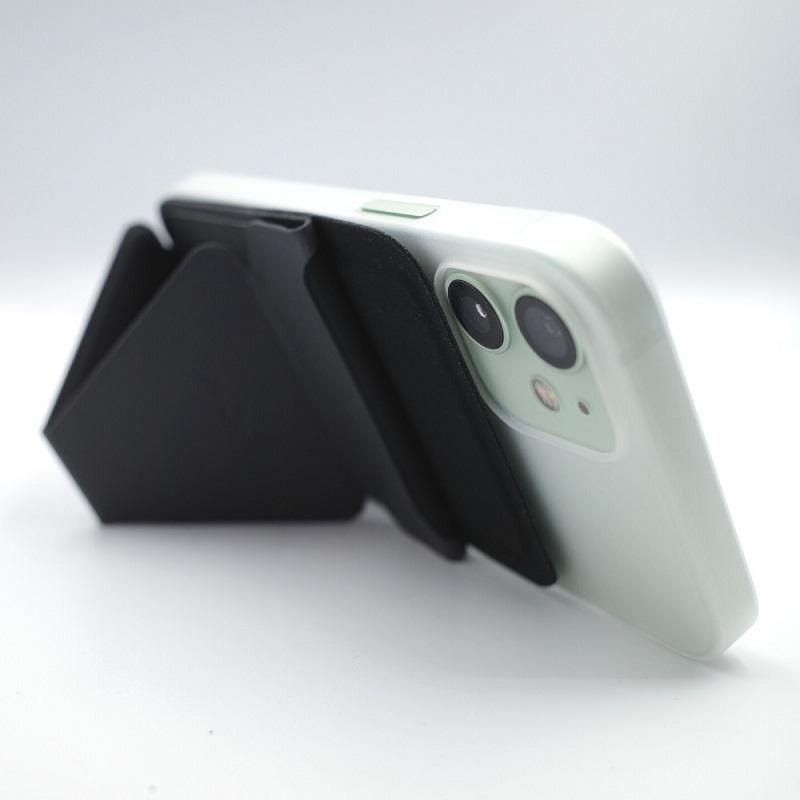 MagSafe対応MOFT XでiPhone12miniを横置き(背面)