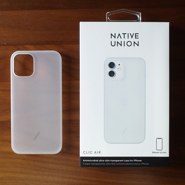 NATIVE UNION Clic Air(iPhone 12 mini)とパッケージ