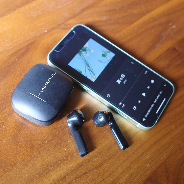 TaoTronics SoundLiberty 92 iPhone12とのペアリング