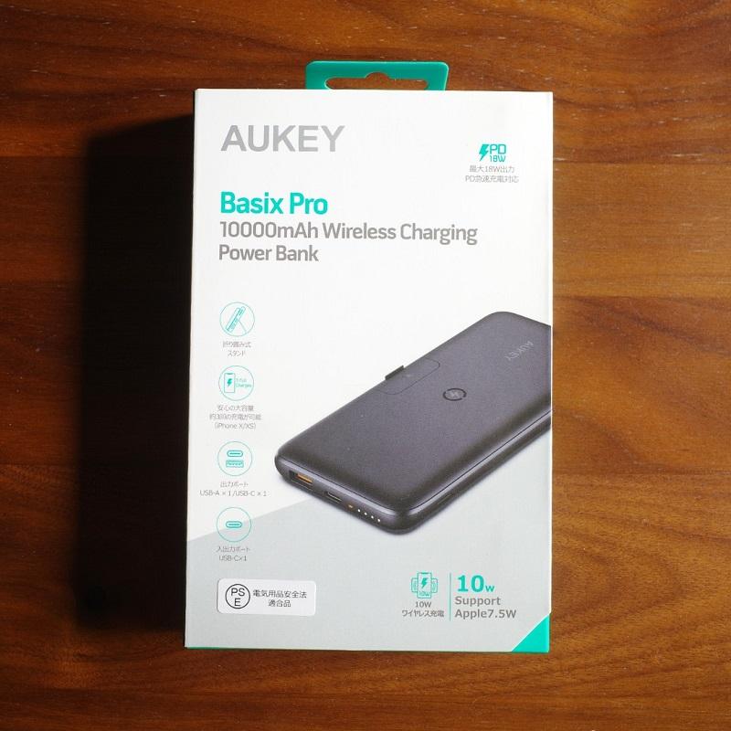 AUKEY PB-WL02パッケージ