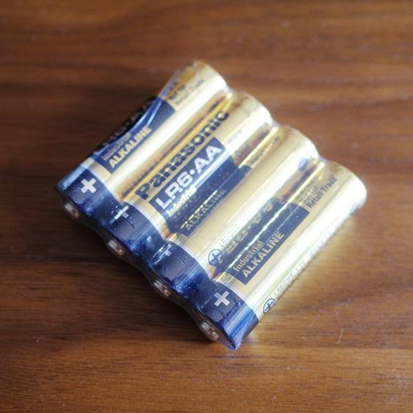 スマートマットライト付属の電池