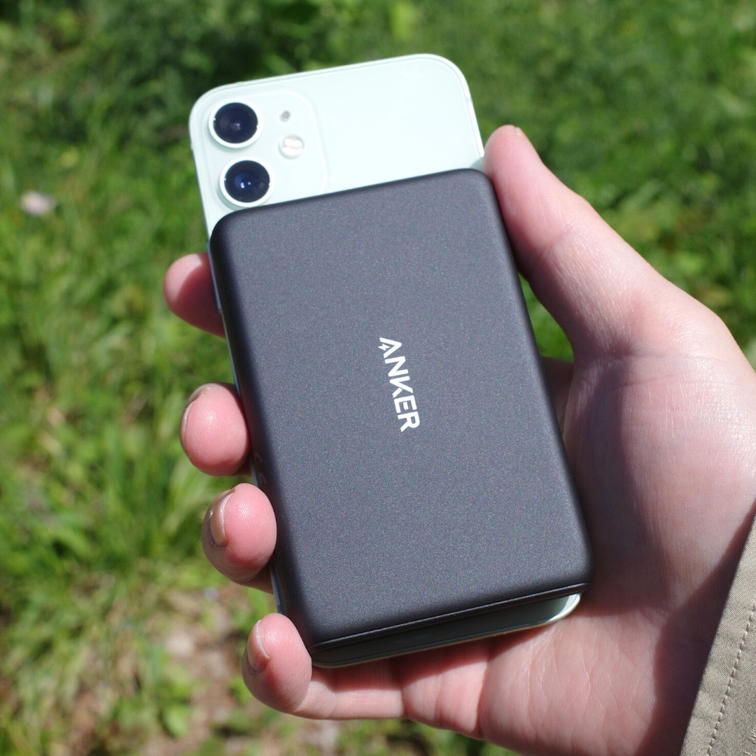 Anker PowerCore Magnetic 5000とiPhone12 mini