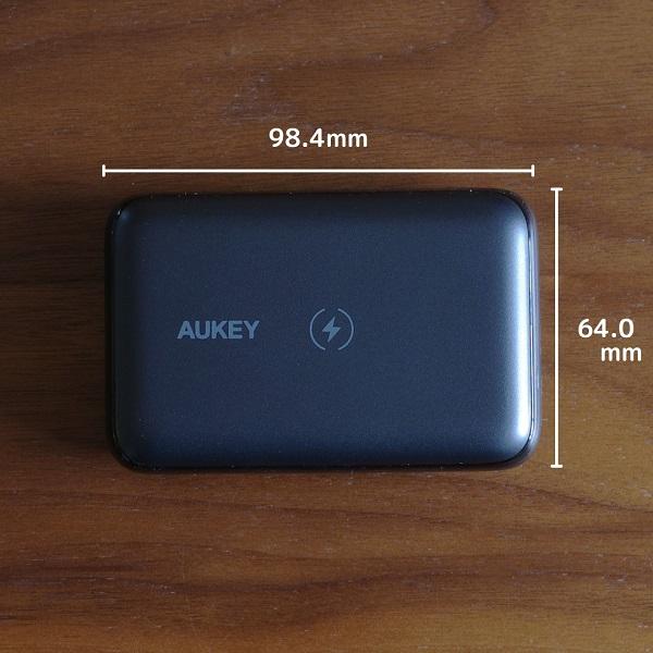 AUKEY Basix Pro Mini縦横サイズ
