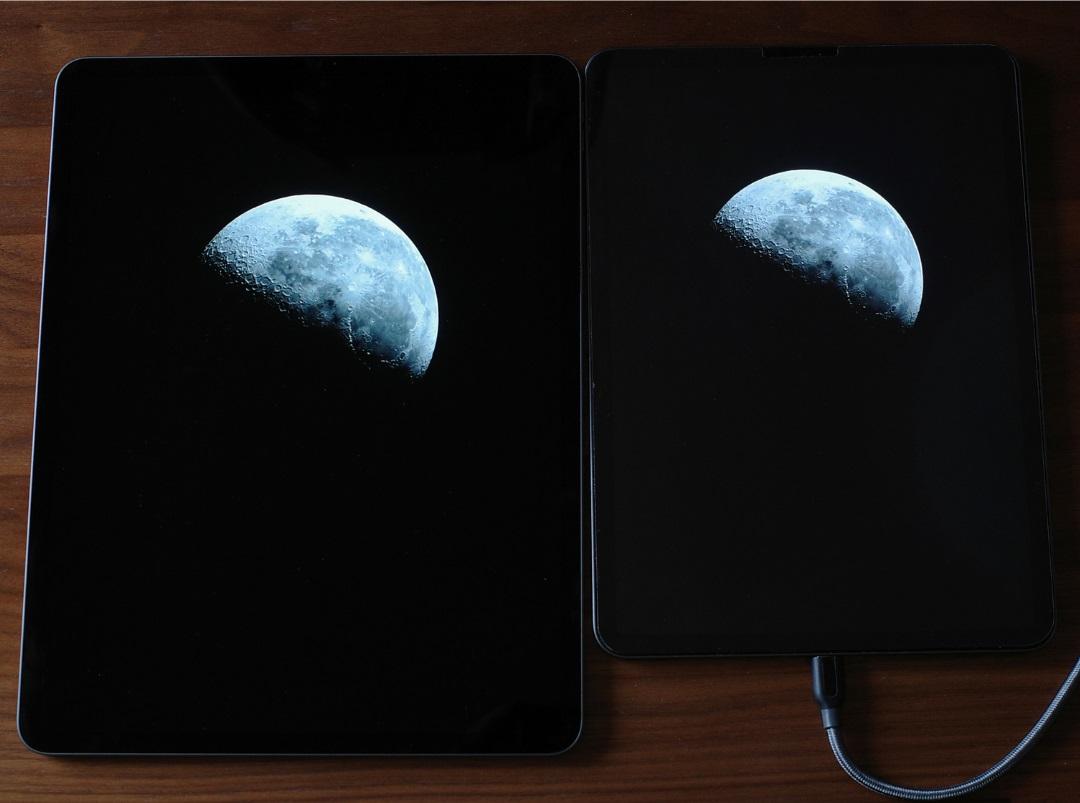 iPadPro第5世代・第4世代のディスプレイ比較