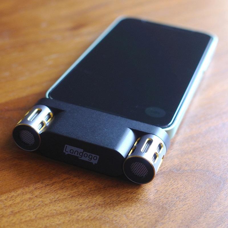 iPhone12 miniにLangogo Miniを接続