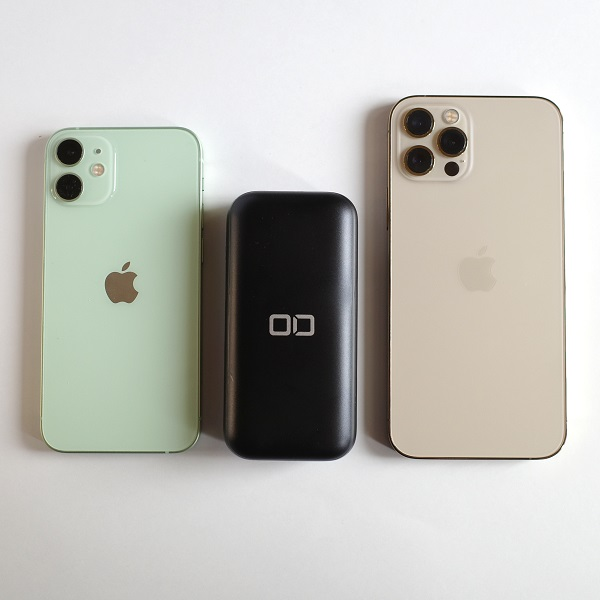 CIO-MB20W-10000-BKとiPhone12シリーズ