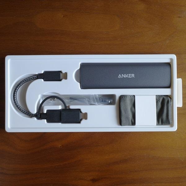 Anker PowerExpand M.2 SSD ケースのパッケージ