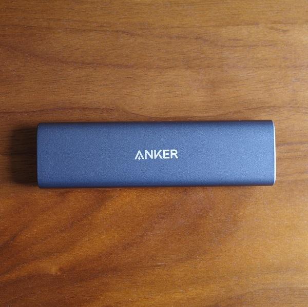 Anker PowerExpand M.2 SSD ケース本体表面