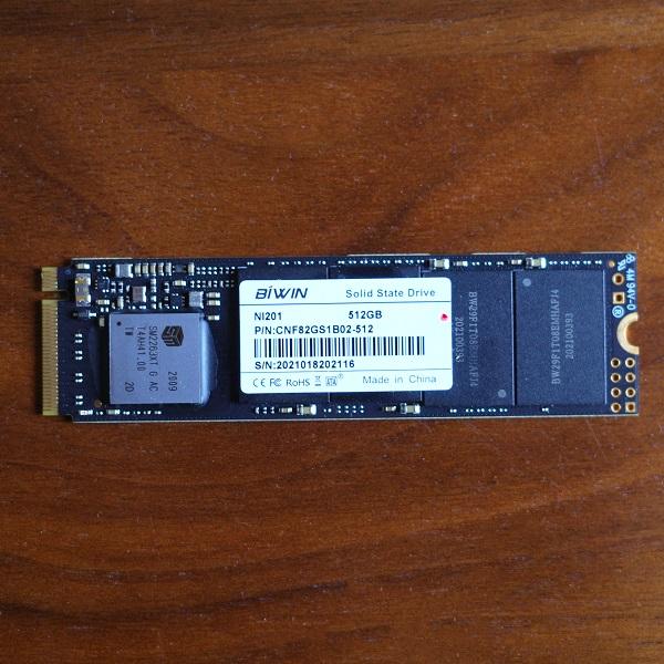 BIWIN NVMe M.2 SSD