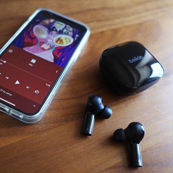 Belkin SOUNDFORM FreedomとiPhone12 mini