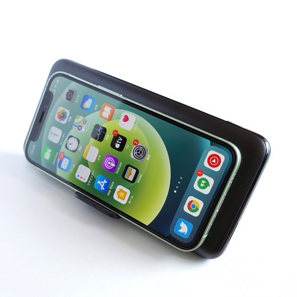 AUKEY Basix Pro(PB-WL02S)diPhone12 miniをワイヤレス充電