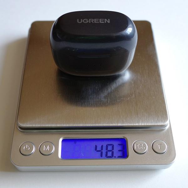 UGREEN HiTune X5ケースの重さ